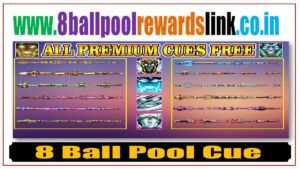 8 ball pool cue link rewards today